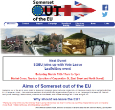 Somerset out of the EU